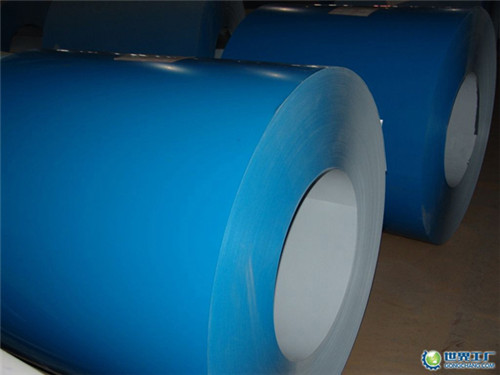 Matt Wrinkle Type Smooth Finish Prepainted Steel Coil